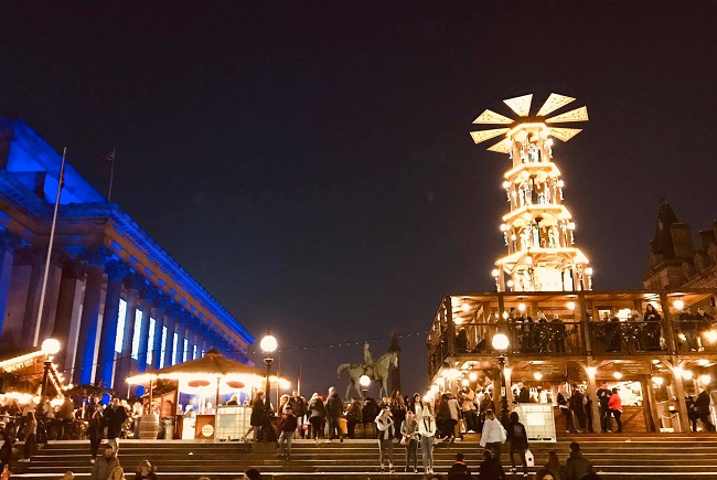 Liverpool Christmas markets St Georges