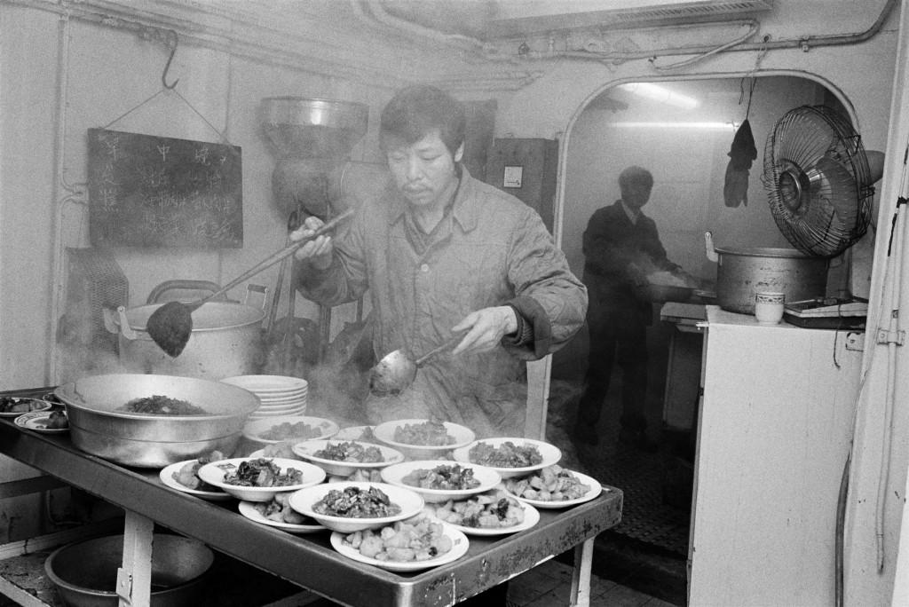 1984 Chinese kitchen in Gladstone Dock/Martin Parr Magnum Photos