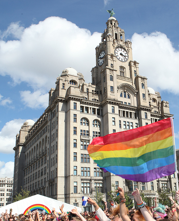 Pier Head Liverpool Pride