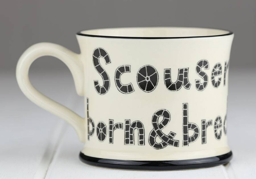 Scouser Born & Bread Mug