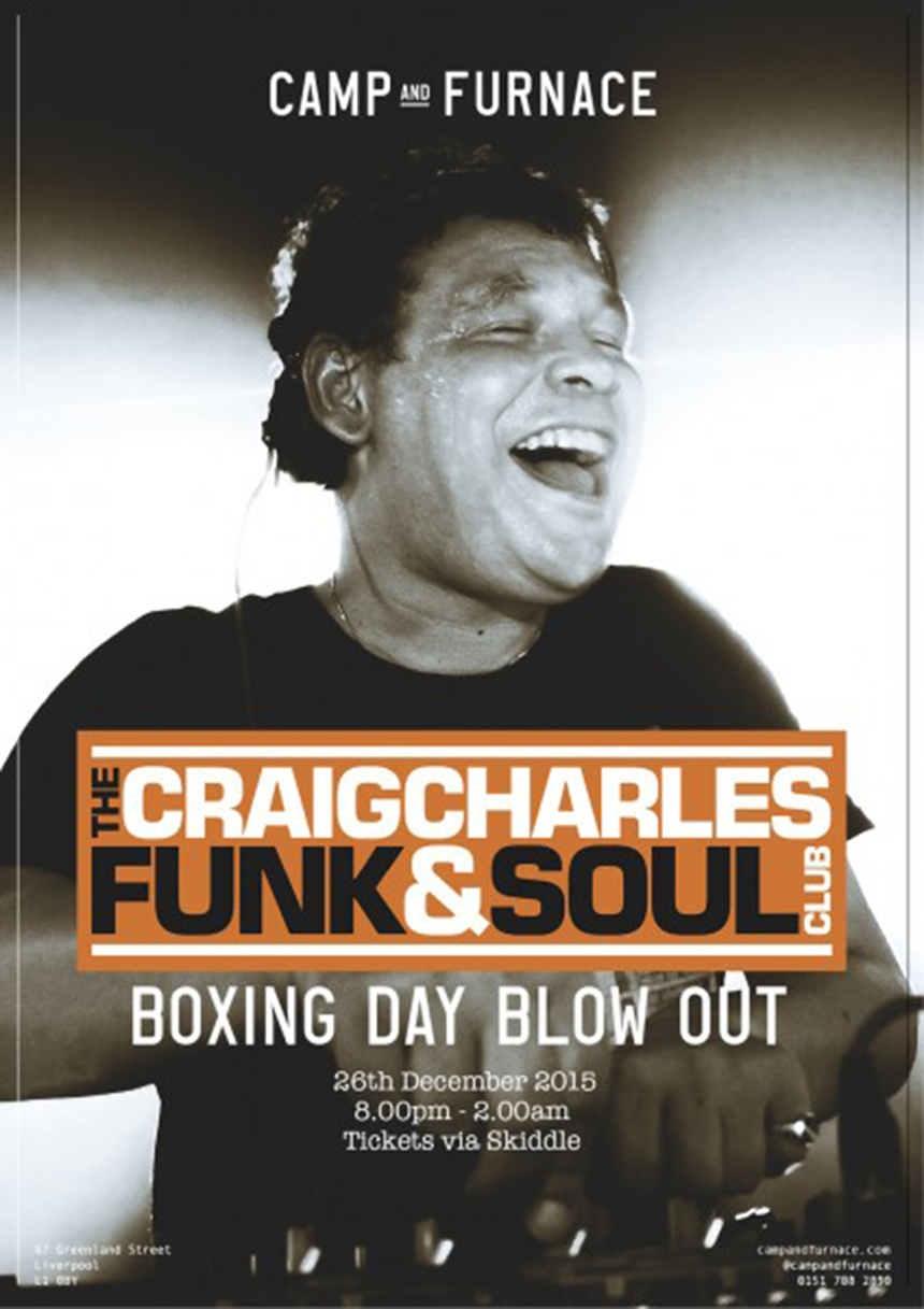 Craig Charles Boxing Night