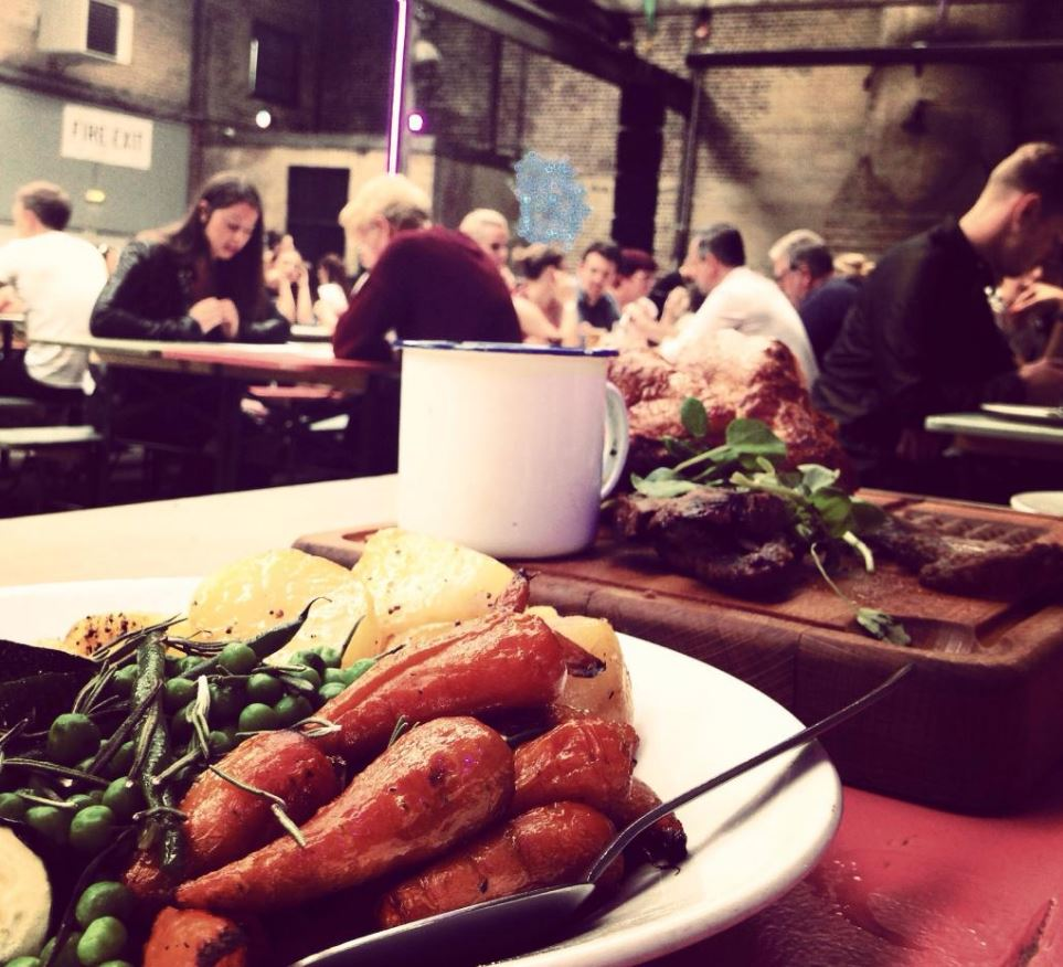Camp & Furnace Sunday Lunch Liverpool
