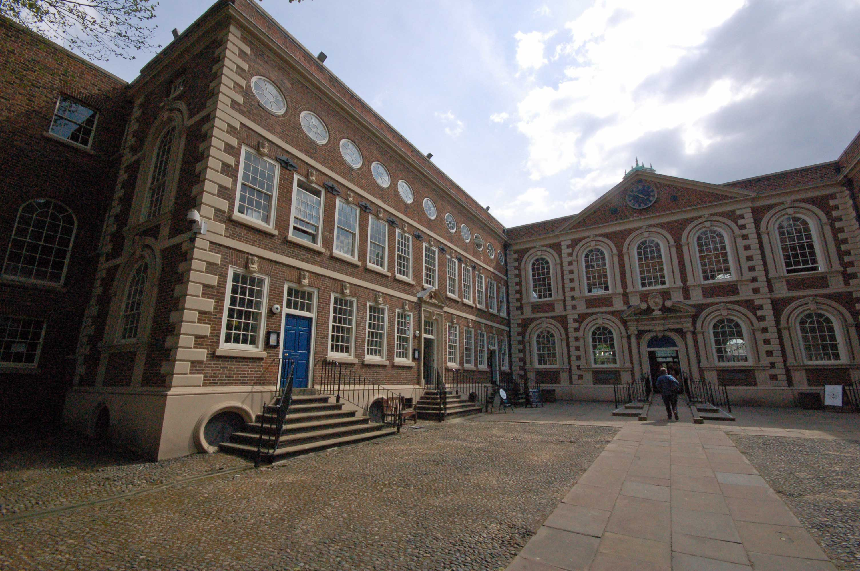 300th birthday of Bluecoat building