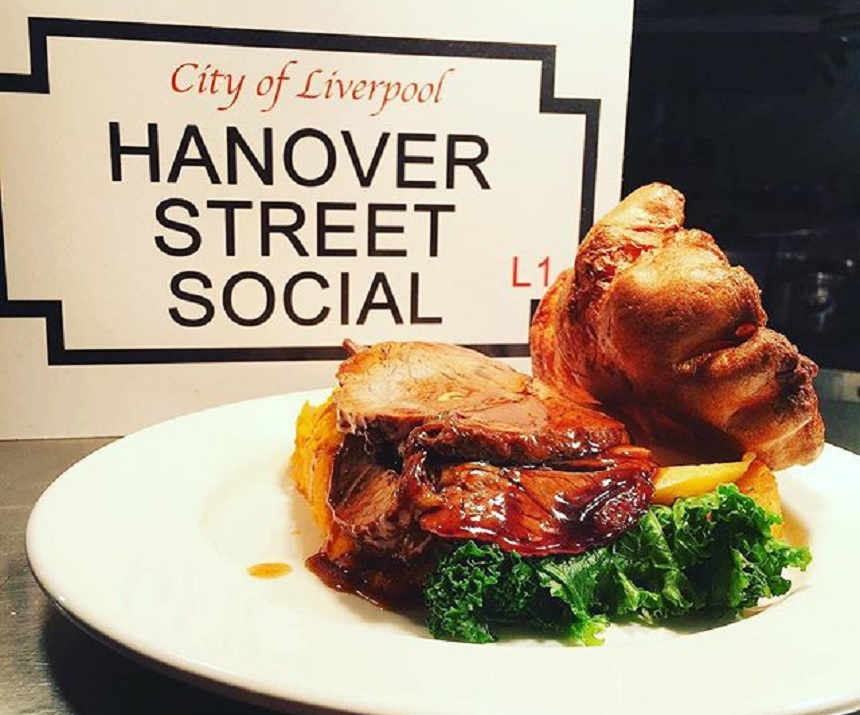 Hanover Street Social - Sunday lunch in Liverpool