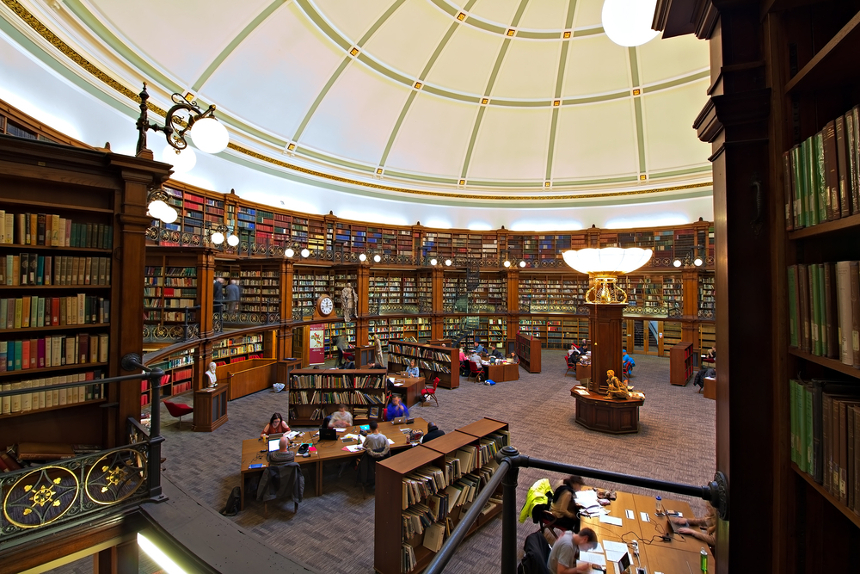 Hornby Library at Central Library, Liverpool