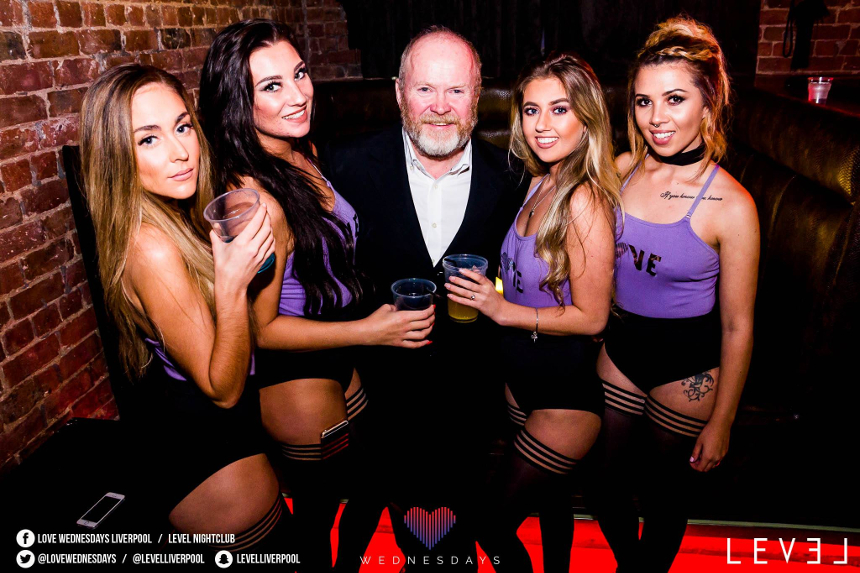 Steve McFadden at Level, Liverpool