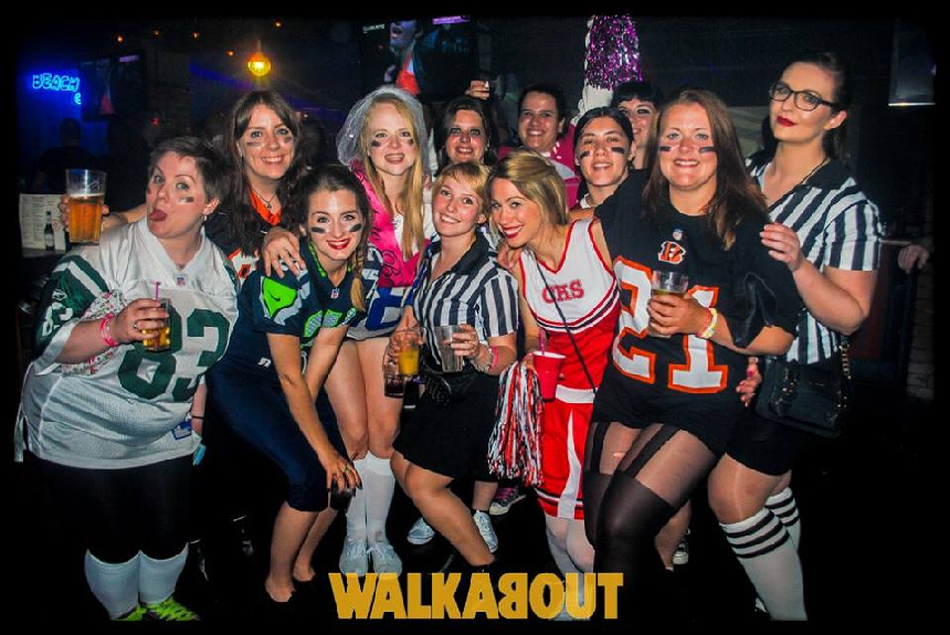 Walkabout - fancy dress night out in Liverpool