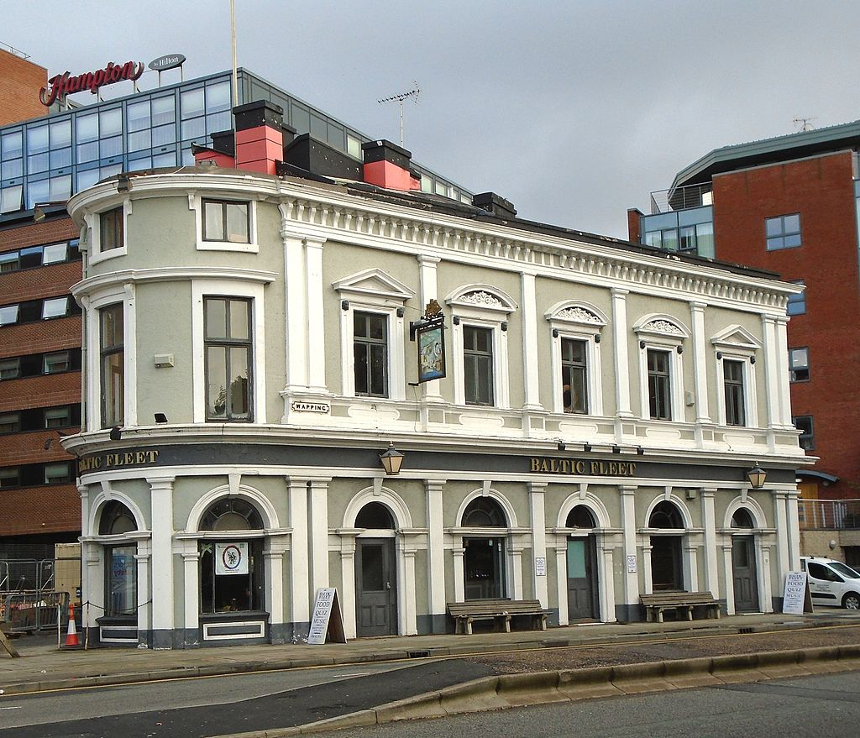 The Baltic Fleet Pub, Baltic Triangle