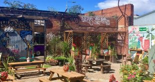 Botanical Gin Garden - outdoor lunch venues in Liverpool