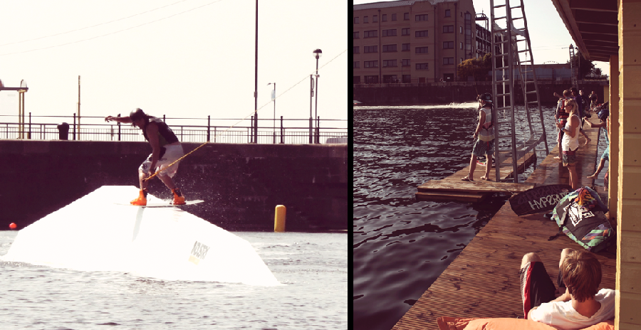 Industry.1 Liverpool Wake Park- outdoor activity in Liverpool