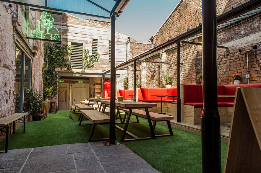 The Merchant - outdoor lunch venues in Liverpool