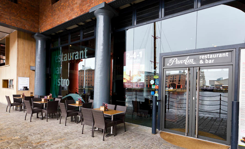 Pan Am - Outdoor lunch venues Liverpool