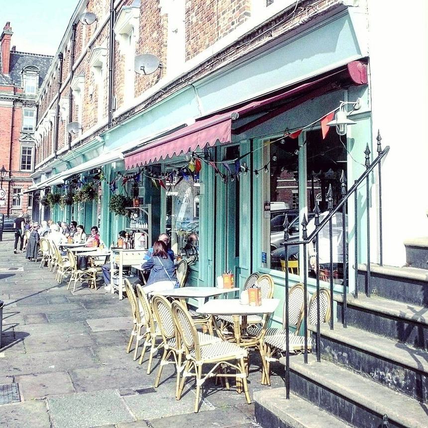 The Quarter - outdoor lunch venues Liverpool