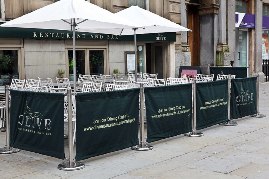 Olive - outdoor lunch venues in Liverpool