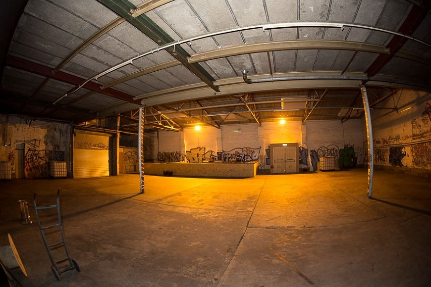 New Bird Street Warehouse - hidden cinema venues in Liverpool