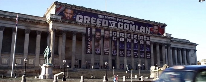 Creed - movies filmed in Liverpool