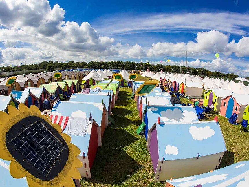 Glamping at Creamfields 2017