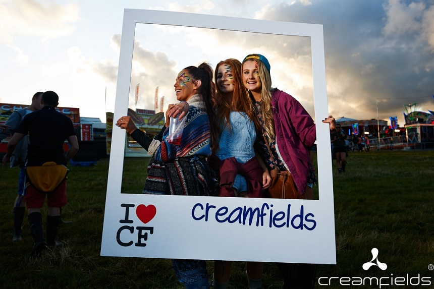 We love Creamfields 2017