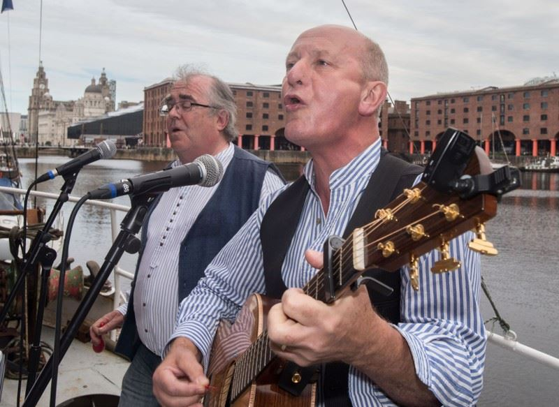 Liverpool Sea Shanty Festival - bank holiday weekend in Liverpool