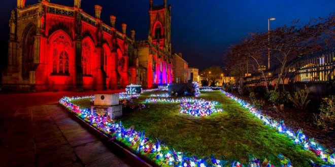 St Lukes Church December 2017 events in Liverpool