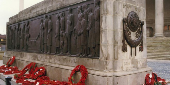 remembrance day in liverpool