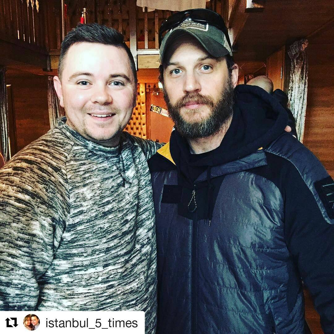 tom hardy at the shankly