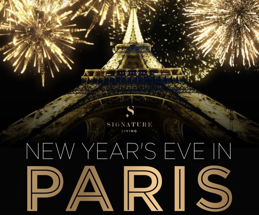 brought to you by signature living get ready to spend midnight in paris with a chic new years eve party