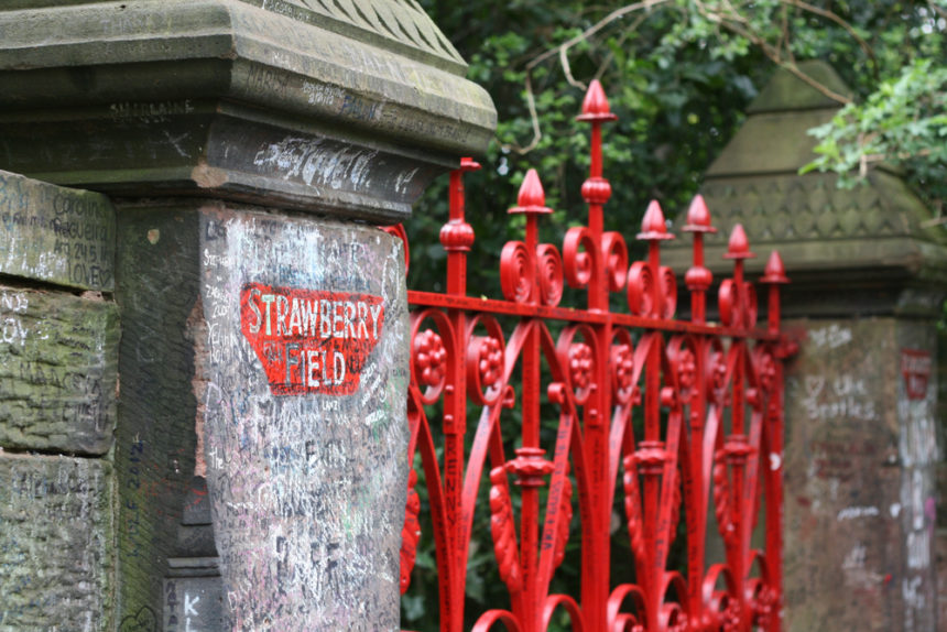 strawberry fields - free things to do in liverpool