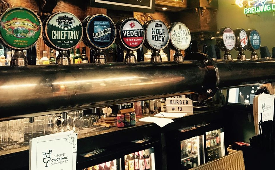 Grove Beer Tap and Grill - real ale Liverpool