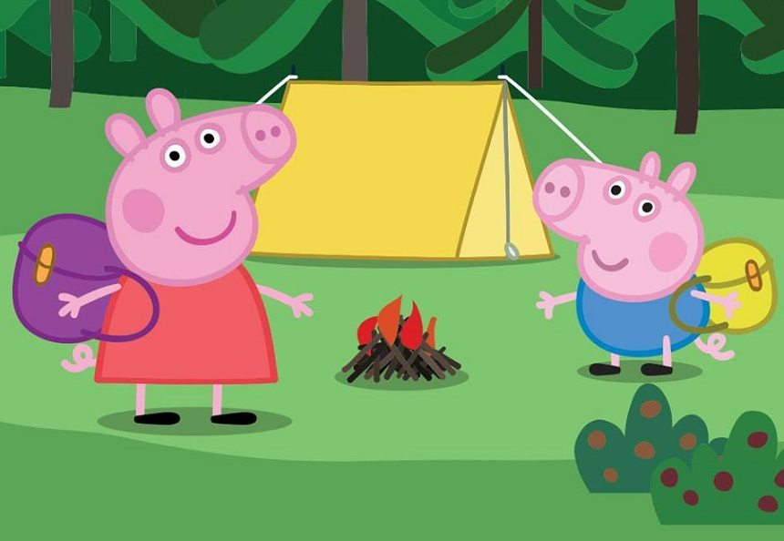Peppa Pig Adventure - school summer holidays