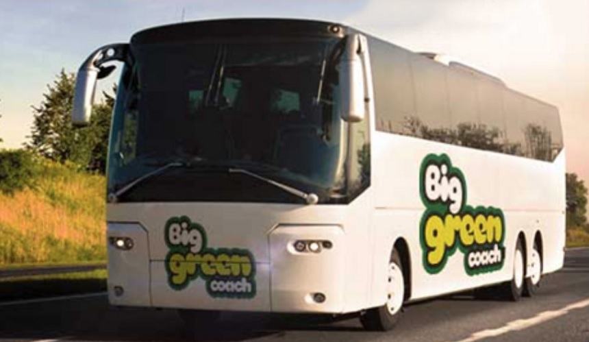 Big Green Coach Creamfields 2018