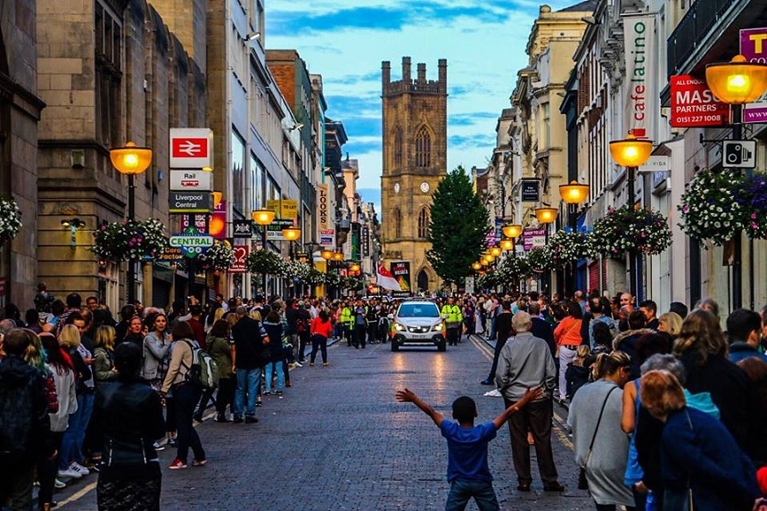 Bold Street Liverpool - European Capital of Culture