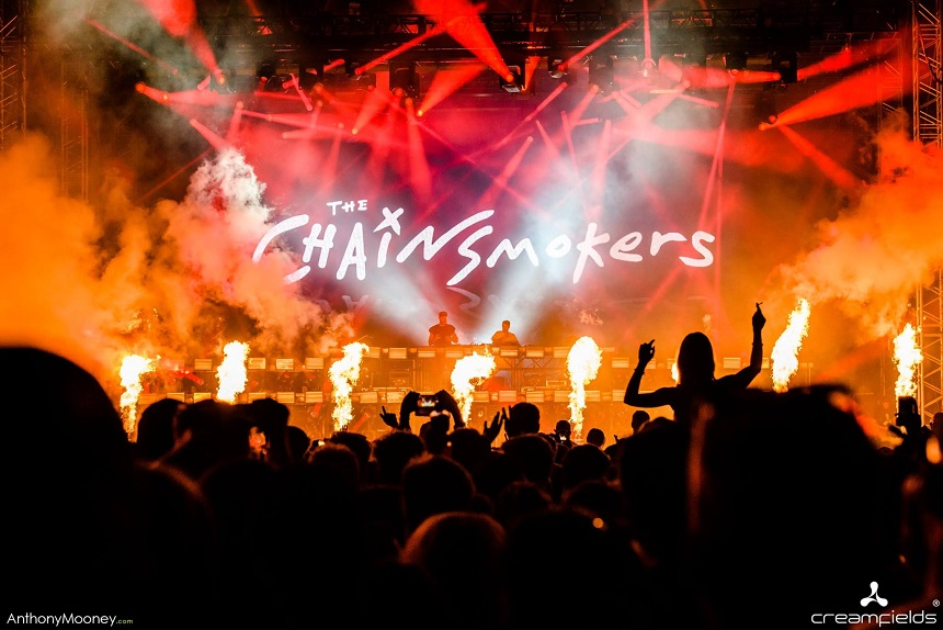 Chainsmokers Creamfields 2018