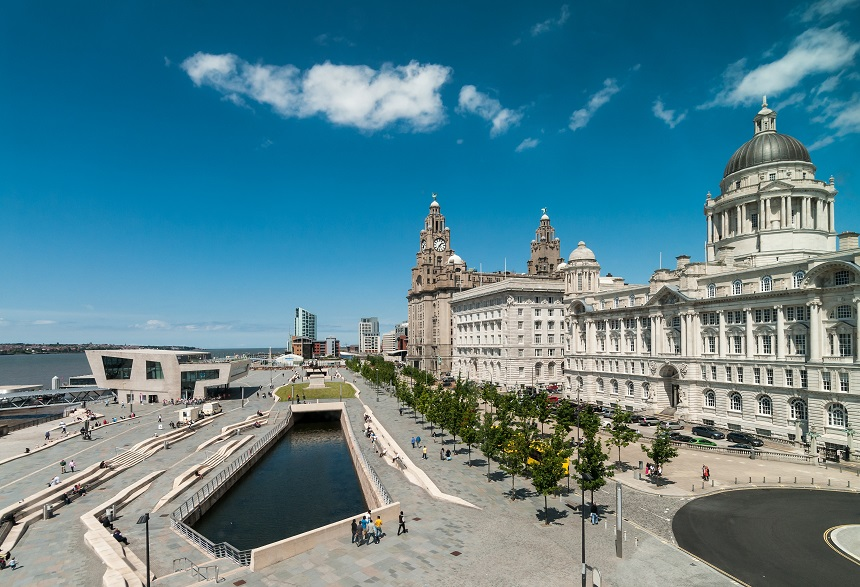 Liverpool waterfront - European Capital of Culture