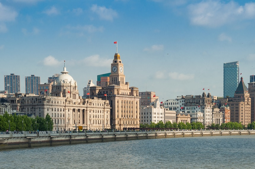The Bund Shanghai - Liverpool twin city in China - China Dream European Capital of Culture