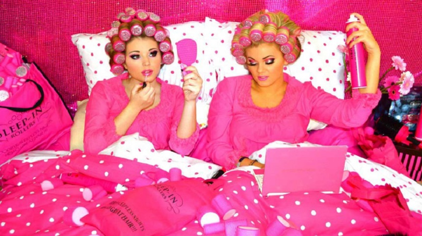 Sleep in Hair Rollers - Scouse Christmas Traditions
