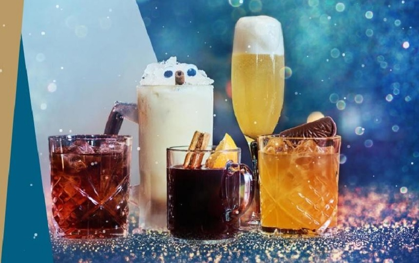 Be At One Christmas Cocktails