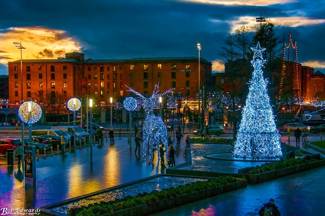 Liverpool ONE & Albert Dock Christmas 2016