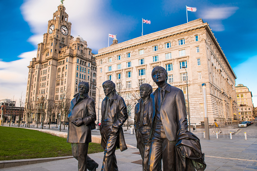 Beatles Landmark at the Pier Head