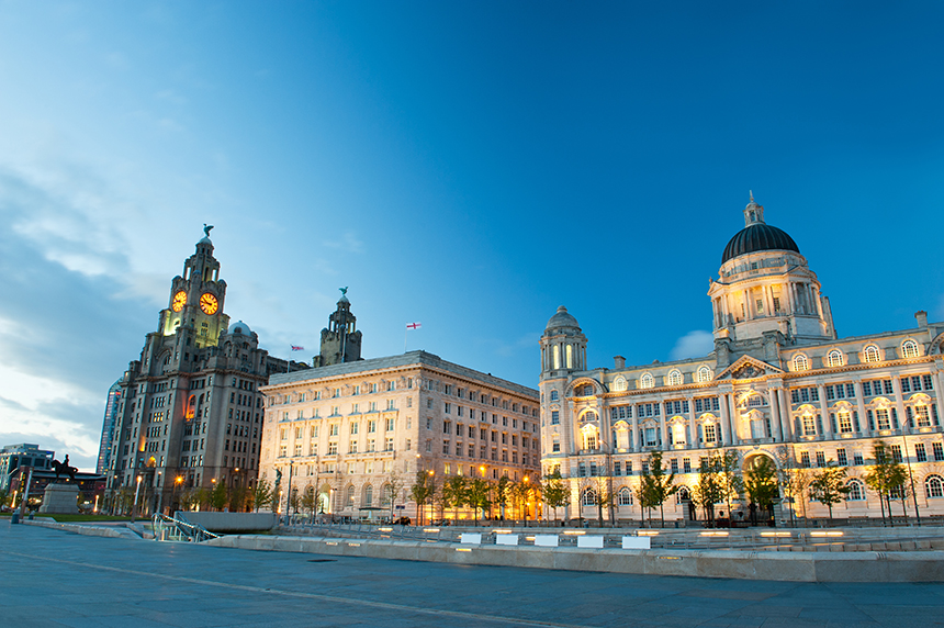 Liverpool's Three Graces
