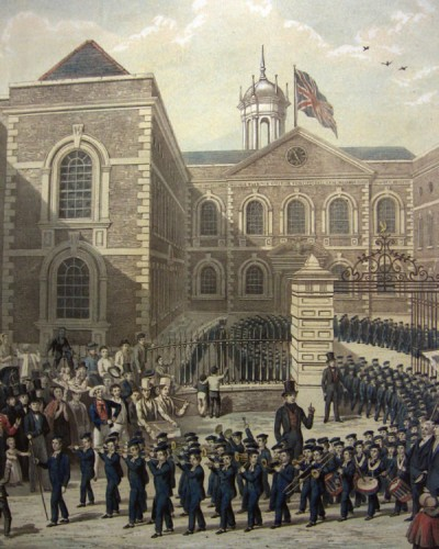 St Georges - Bluecoat 300th birthday
