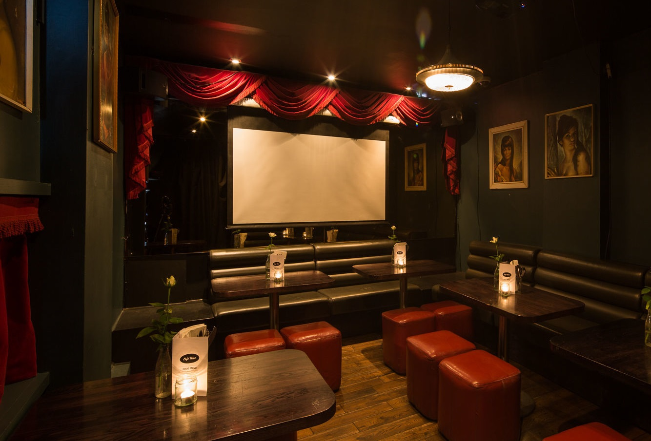 Cafe Tabac - hidden cinema venues in Liverpool