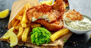 fish and chips in Liverpool