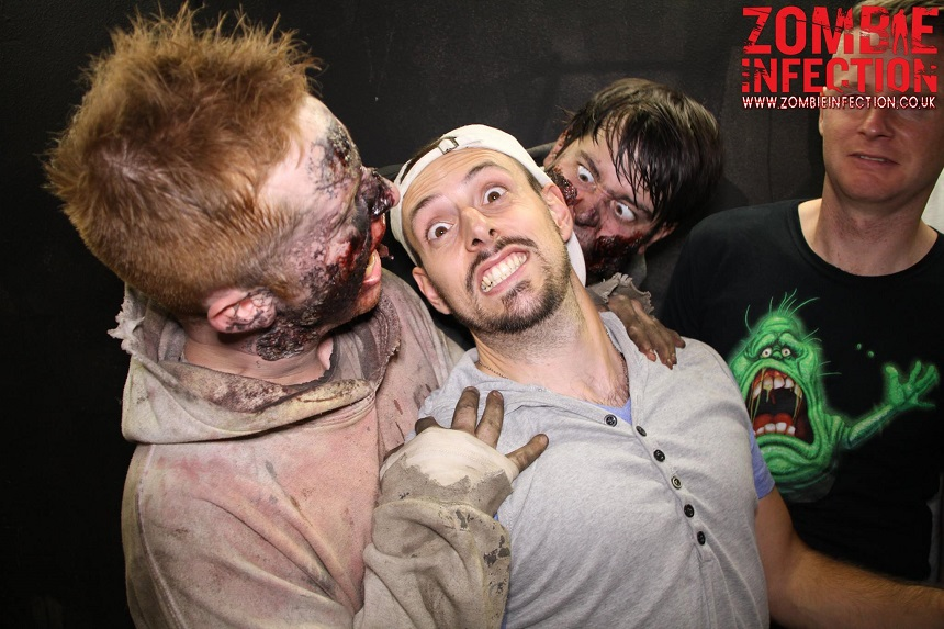 stag do bucket list zombie infection