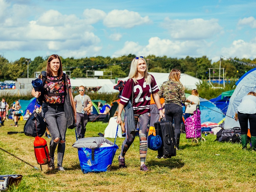 Camping at Creamfields 2017