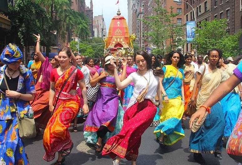 Ratha Yatra - bank holiday weekend in Liverpool
