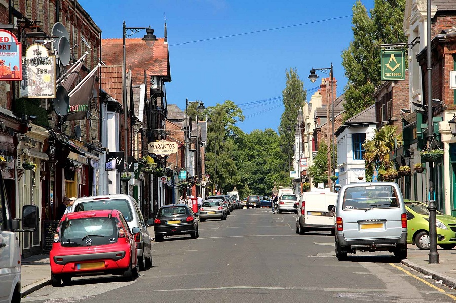 things to do in LIverpool - visit Lark Lane