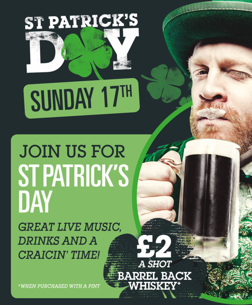 St Patrick's Day Liverpool