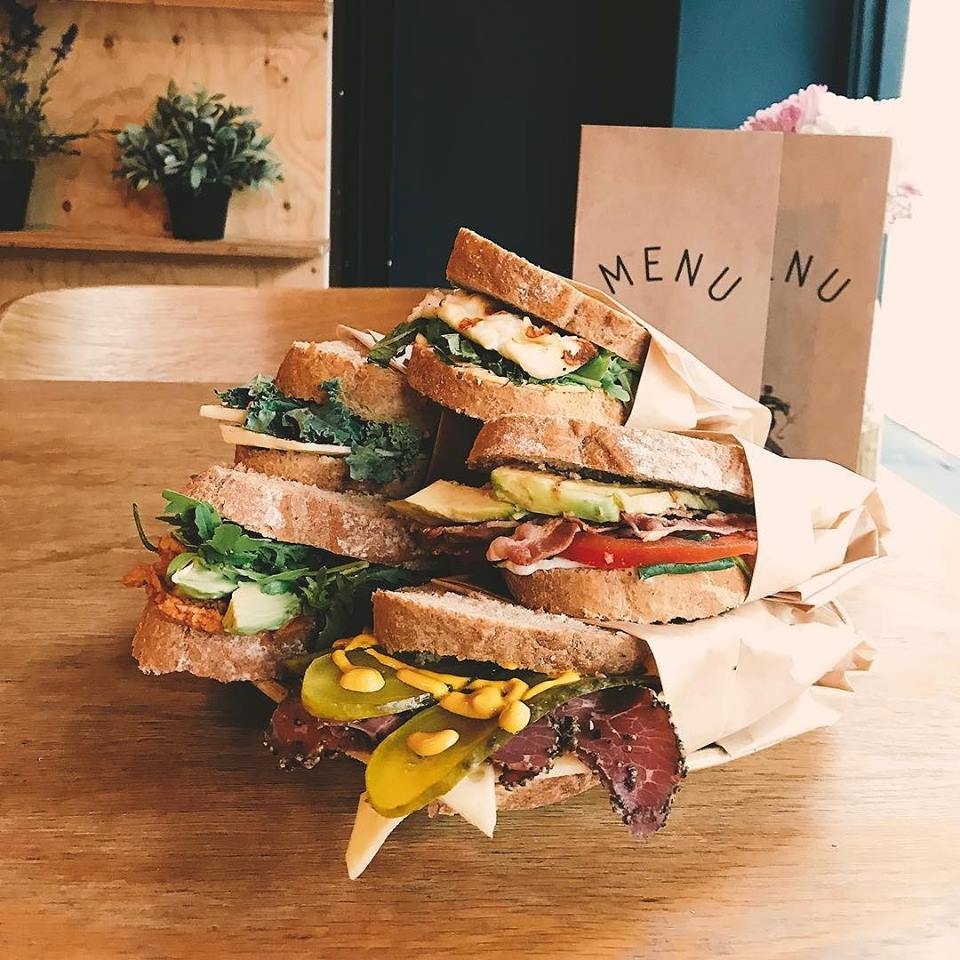 Cow and Co sandwiches