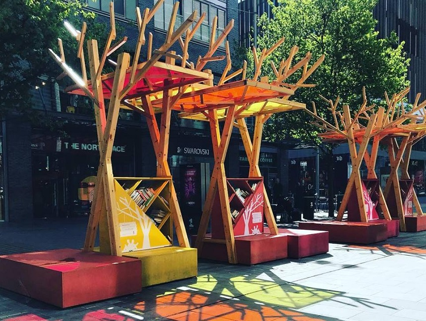Reading Tree's in Liverpool One - European Capital of Culture
